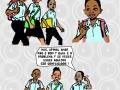 Banda desenhada publicada na Agenda Mulher 2015