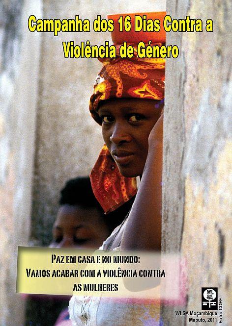 Cartaz da Campanha dos 16 Dias 2011