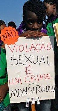 Violação sexual é crime