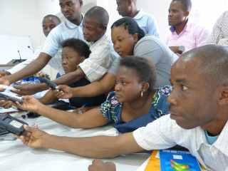 Formação de repórteres em Nampula