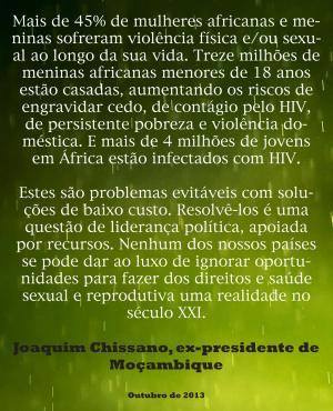 citação J. Chissano