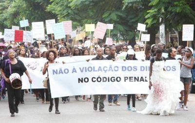 Marcha contra a violação dos direitos humanos no Código Penal