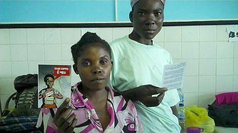 No Hospital Central da Beira