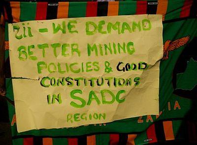 Marcha de Solidariedade dos Povos da SADC