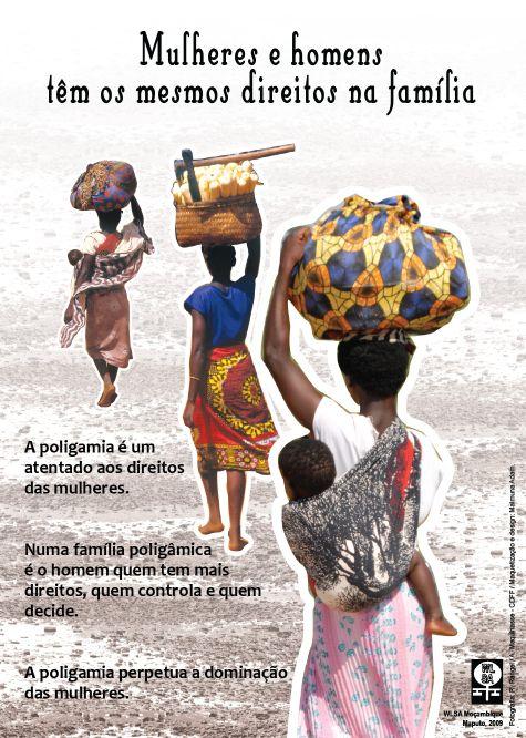A Poligamia é um atentado aos direitos das mulheres