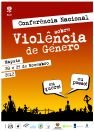 Cartaz da Conferência Nacional sobre Violência de Género, Novembro 2012