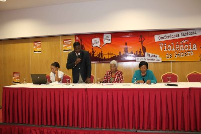 Conferência Nacional sobre Violência de Género