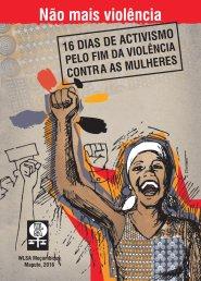Cartaz da Campanha de 16 dias de activismo
