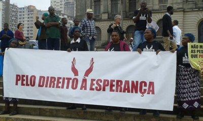 Foto da marcha de 18 de Junho