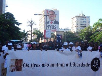 Marcha pela liberdade de expressão