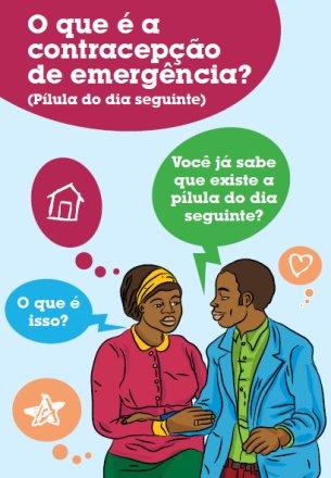 Brochura sobre Contracepção de Emergência