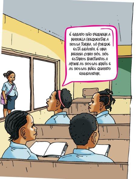 Gravidez na escola