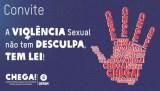 Convite para campanha contra a violência sexual