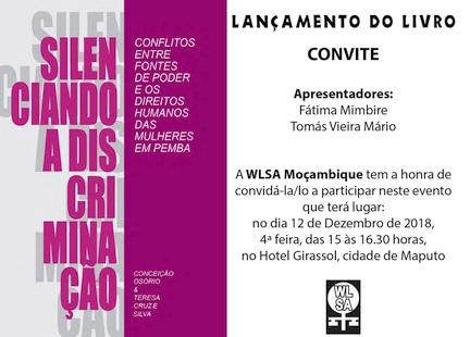 Convite lançamento livro