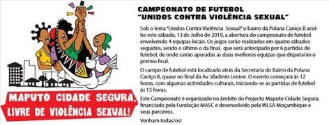 Convite Campeonato de Futebol
