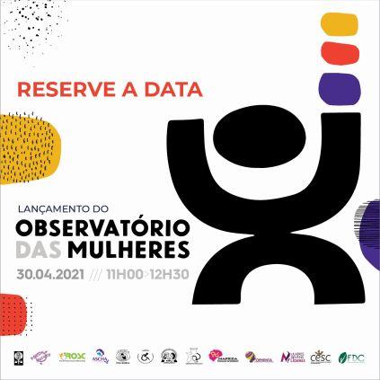 Lançamento observatório das mulheres